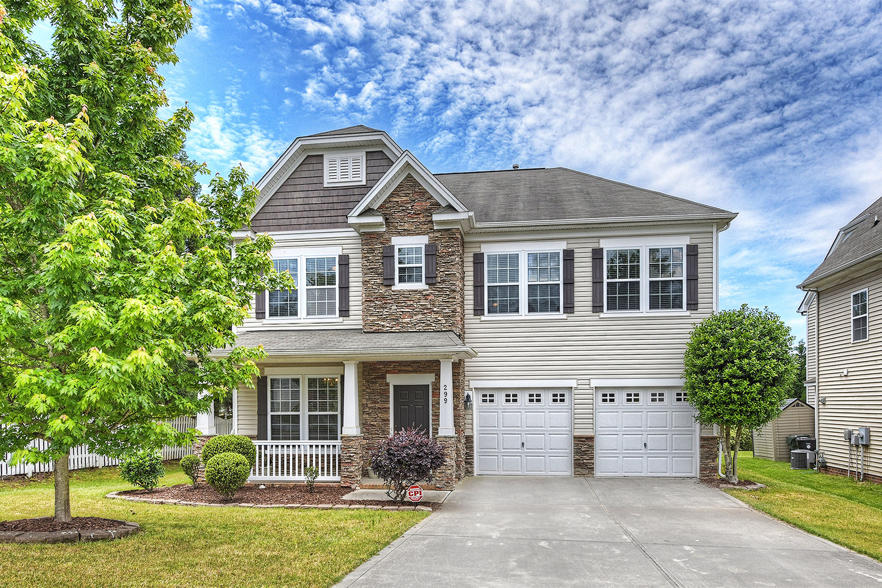 Single Family Homes for Sale at 299 Trillium Street Nw Concord, North Carolina 28027 United States
