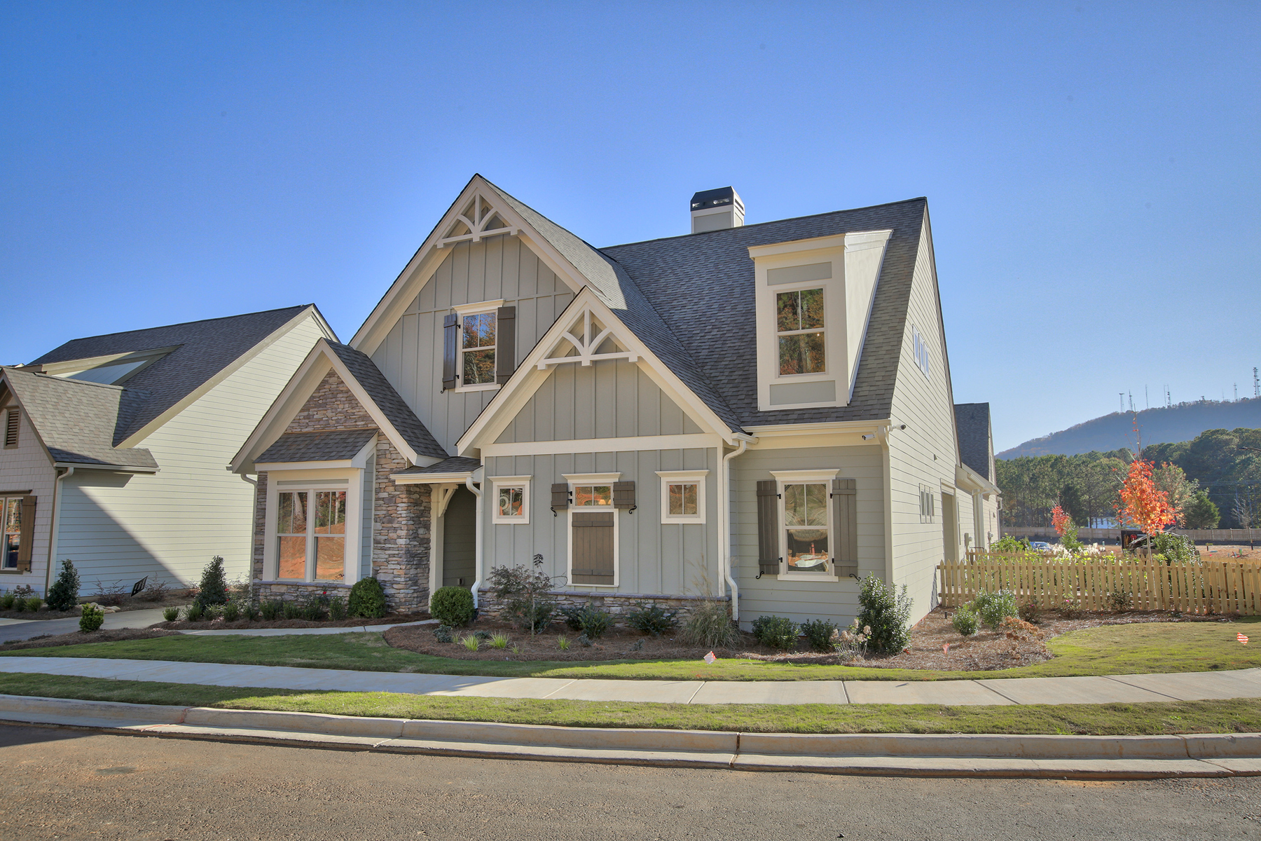 Single Family Home for Sale at Premier Home In The New Longleaf Woodstock Active Adult Community 195 Foxtail Road Woodstock, Georgia 30188 United States