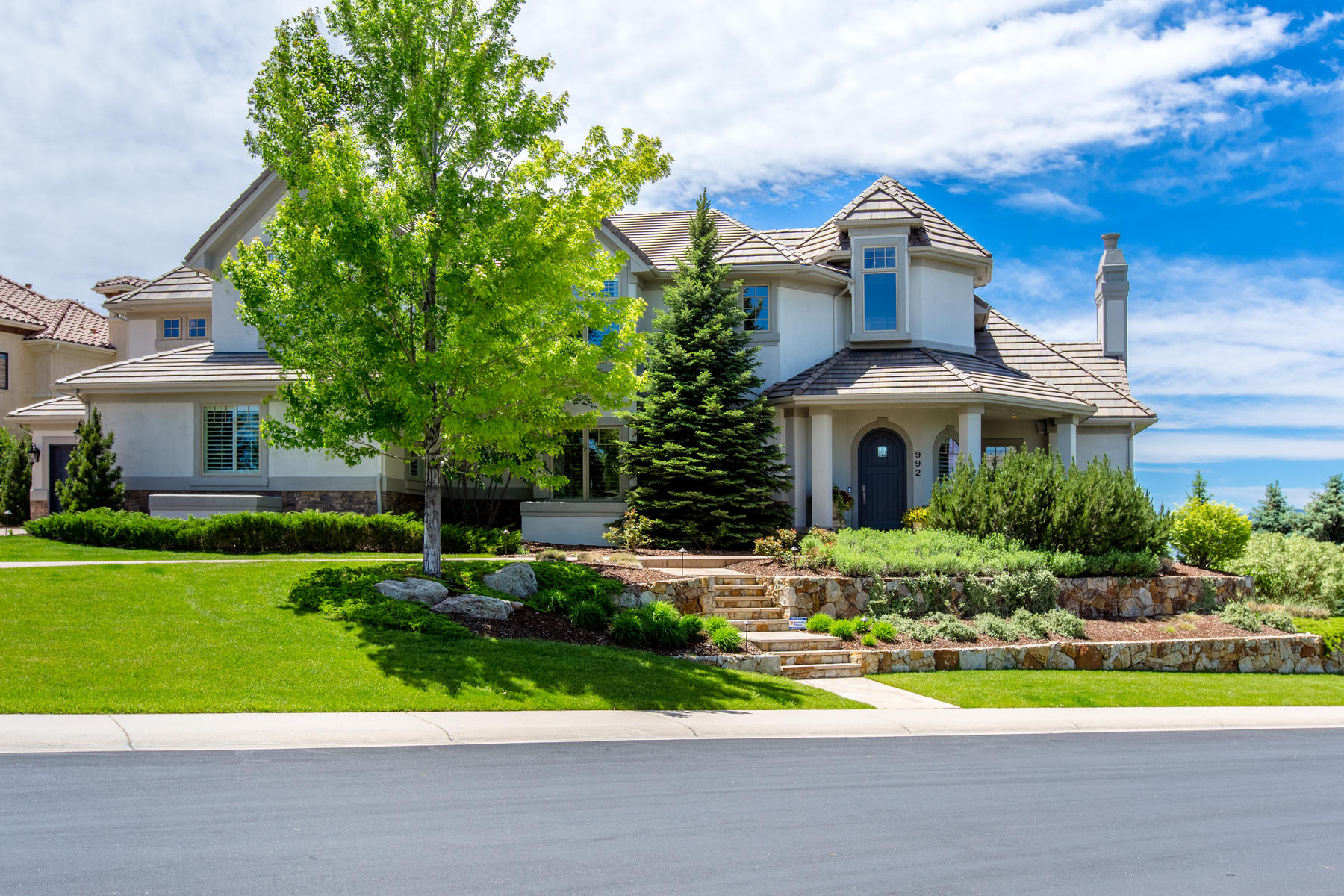 Single Family Homes for Sale at Step Into Your Dream Home! 992 Michener Way Highlands Ranch, Colorado 80126 United States