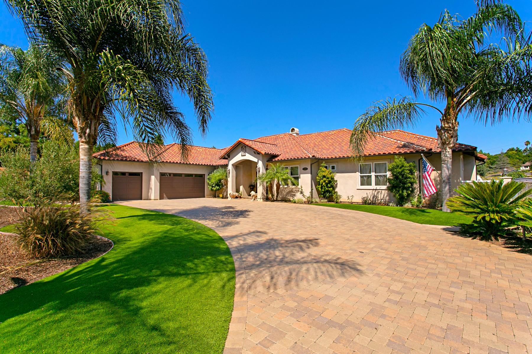 Single Family Homes for Sale at 2070 Zlatibor Ranch Road Escondido, California 92025 United States