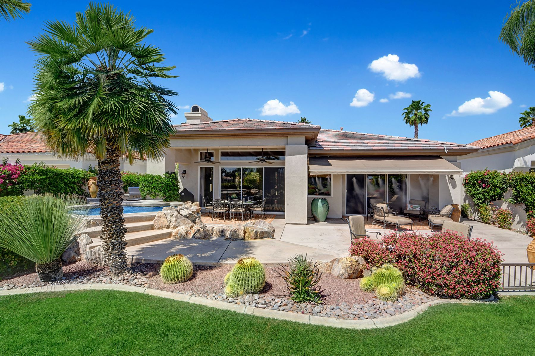 Single Family Homes for Sale at Stunning Contemporary Home in Indian Ridge 770 Snow Creek Canyon Palm Desert, California 92211 United States