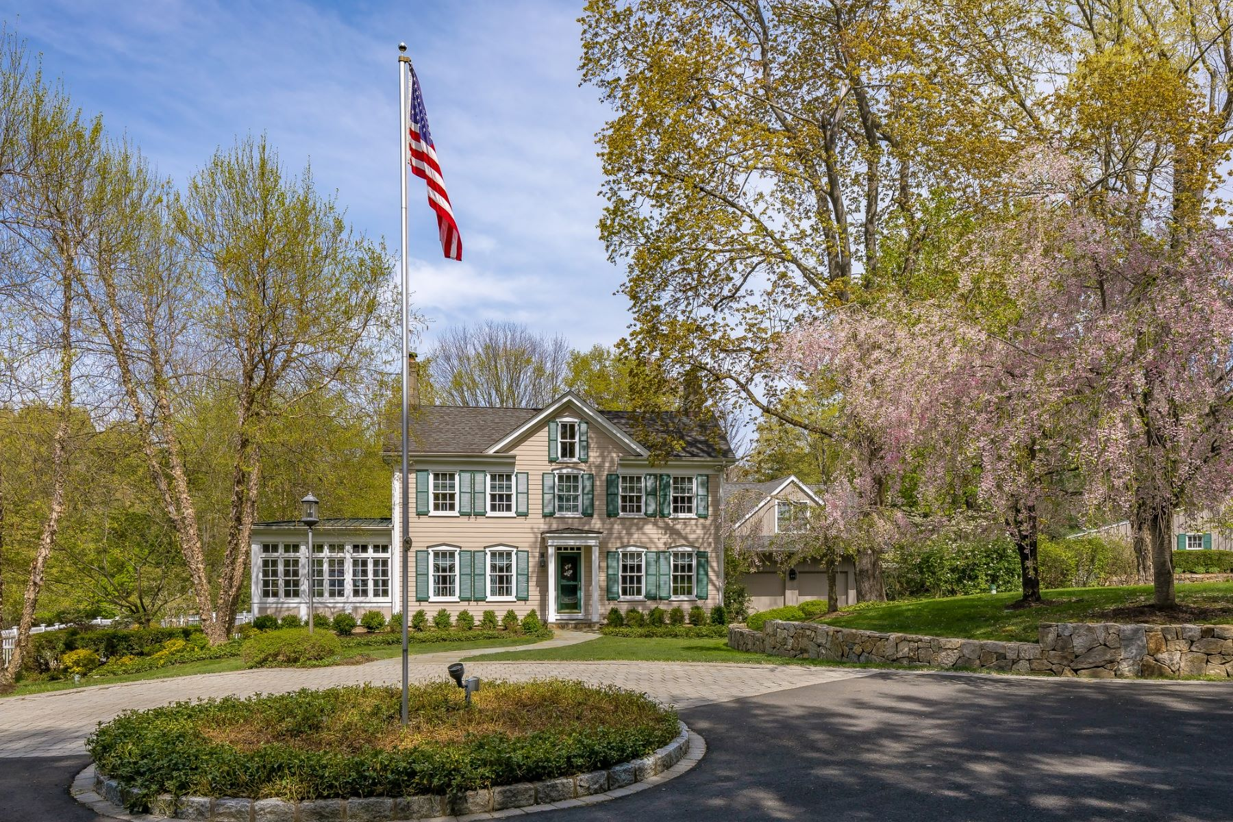 Single Family Homes for Sale at Leaning Oak Pond 351 Hilltop Road Mendham, New Jersey 07945 United States