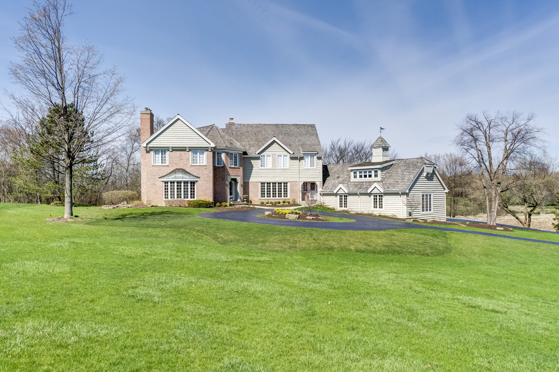 Single Family Home for Sale at French Country Retreat 30 Polo Drive South Barrington, Illinois 60010 United States