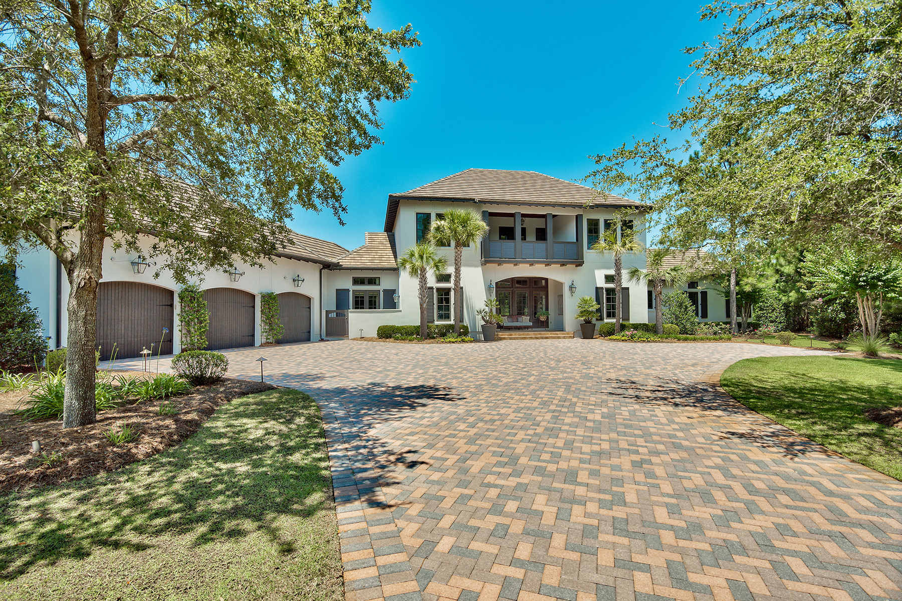 Single Family Homes for Sale at Fairway and Lake Views from Highly Admired Home 3408 Ravenwood Lane Miramar Beach, Florida 32550 United States