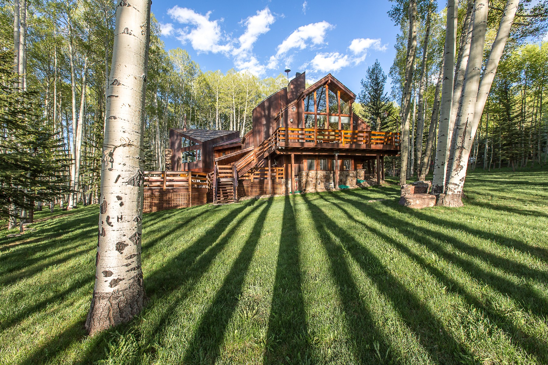 Single Family Home for Sale at Lazy Dog Ranch 1075 Wilson Mesa Circle Placerville, Colorado 81430 United States