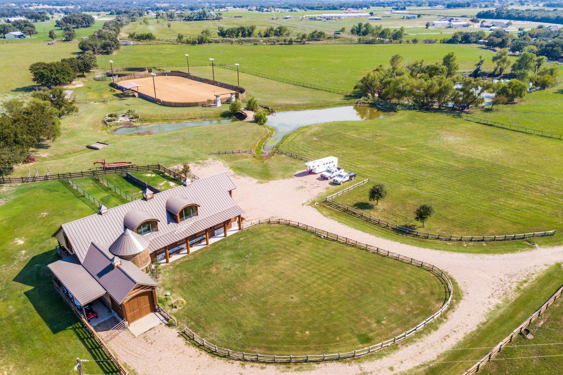 Granjas / Hacienda / Platanción por un Venta en Granbury Horse Ranch 22 AC 1824 Nutt Grove Court Granbury, Texas 76049 Estados Unidos