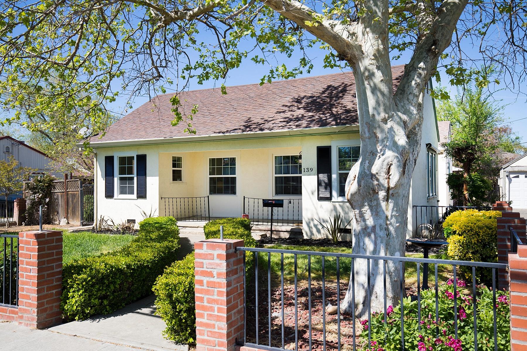 Частный односемейный дом для того Продажа на Single Family Home In Parker Villas 139 Carlton way Tracy, Калифорния 95376 Соединенные Штаты