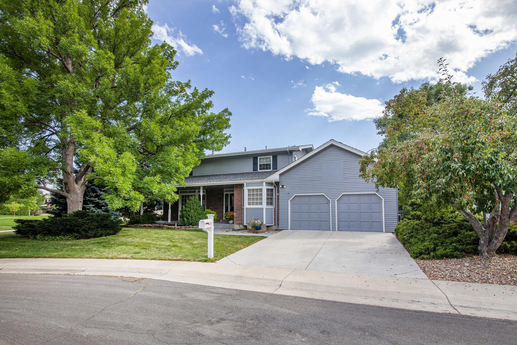 Single Family Homes for Sale at Prime Arapahoe Ridge Location 4892 Kellogg Cir Boulder, Colorado 80303 United States