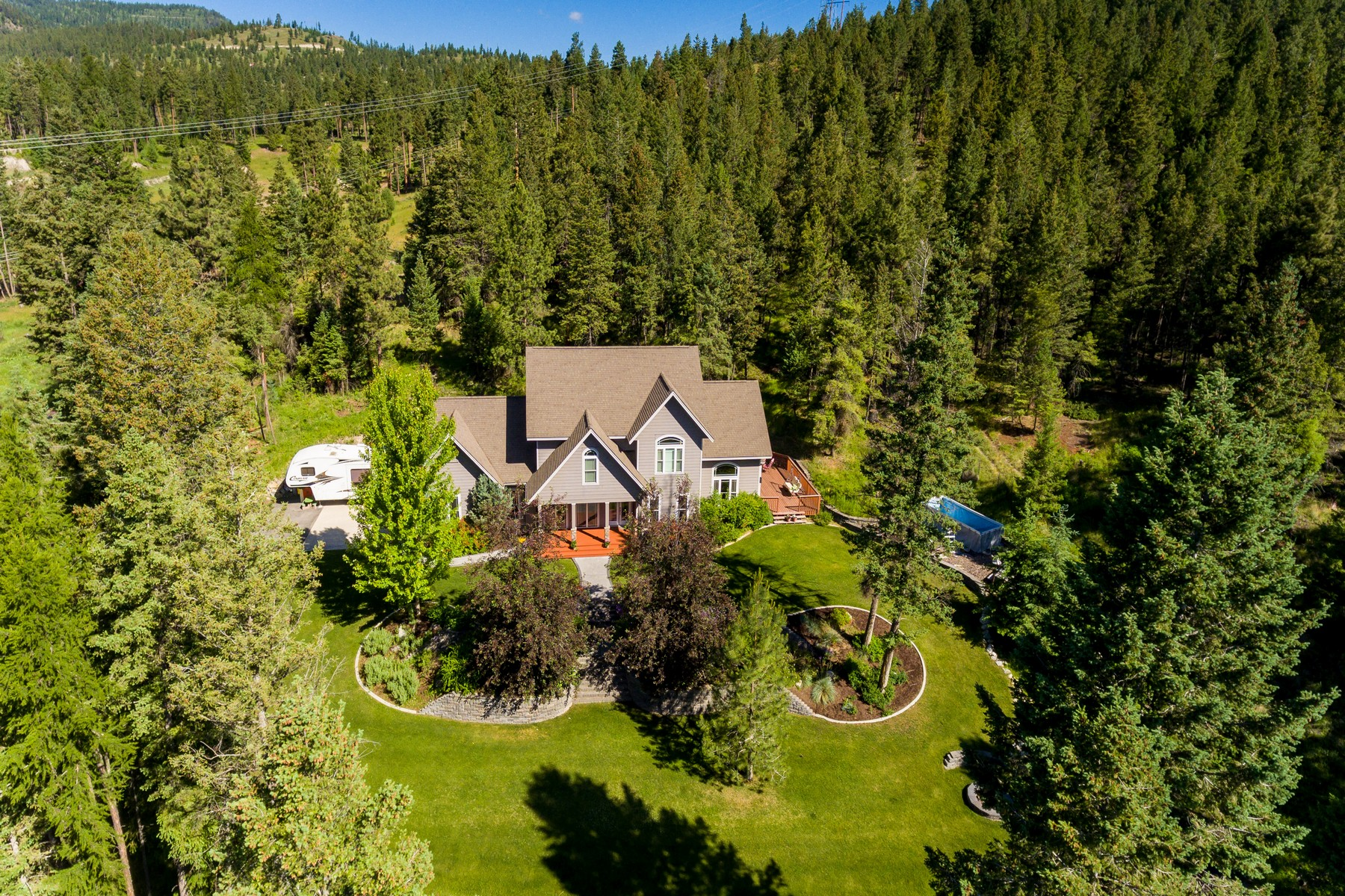 Single Family Home for Active at 250 Westridge Drive 250 Westridge Drive Somers, Montana 59932 United States
