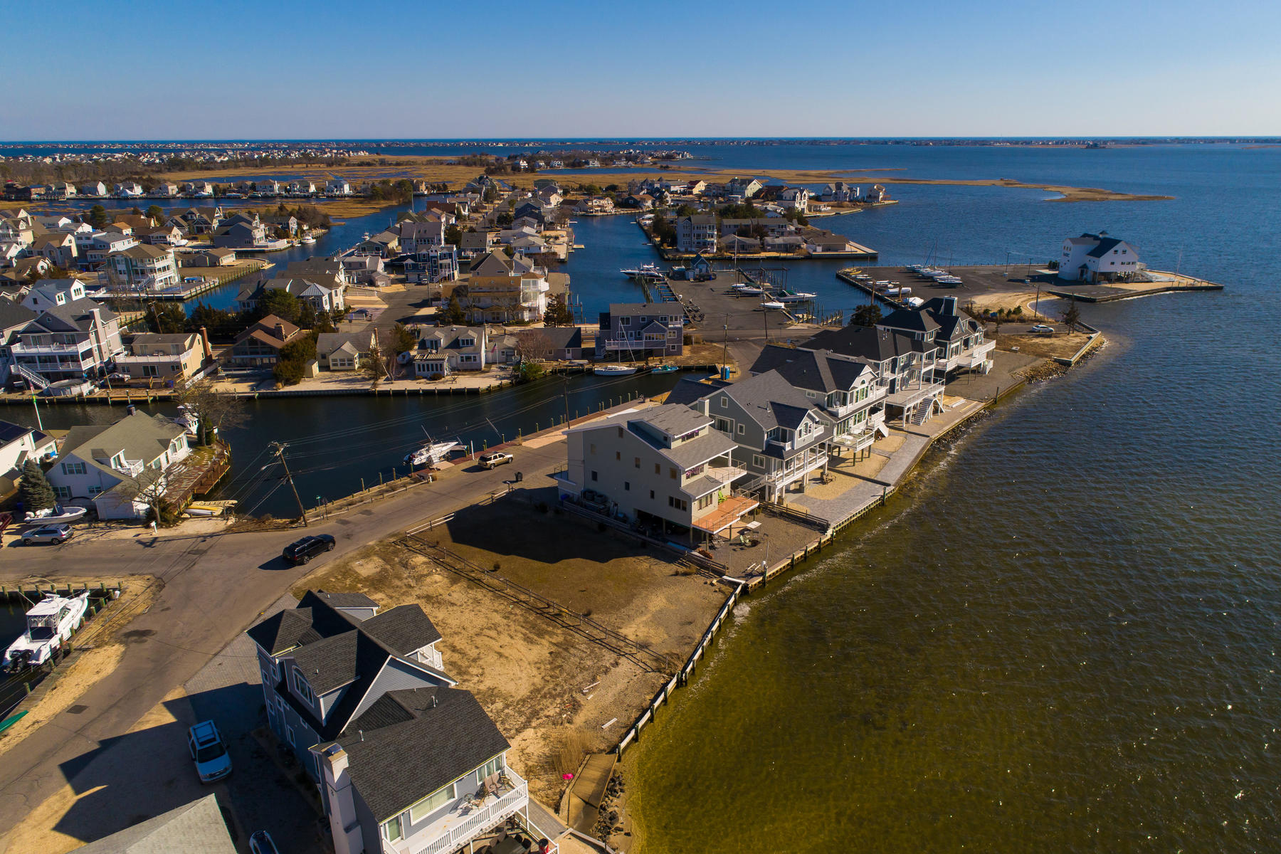 Land for Active at Wonderful Opportunity To Build New Waterfront Home 13 Paul Jones Drive Brick, New Jersey 08723 United States
