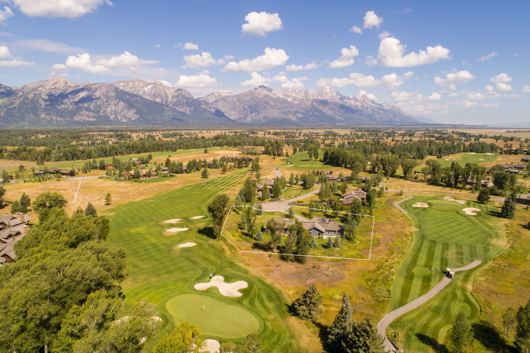 独户住宅 为 销售 在 Jackson Hole Golf & Tennis Club 6040 Golden Currant Court, 杰克逊, 怀俄明州, 83001 Jackson Hole, 美国