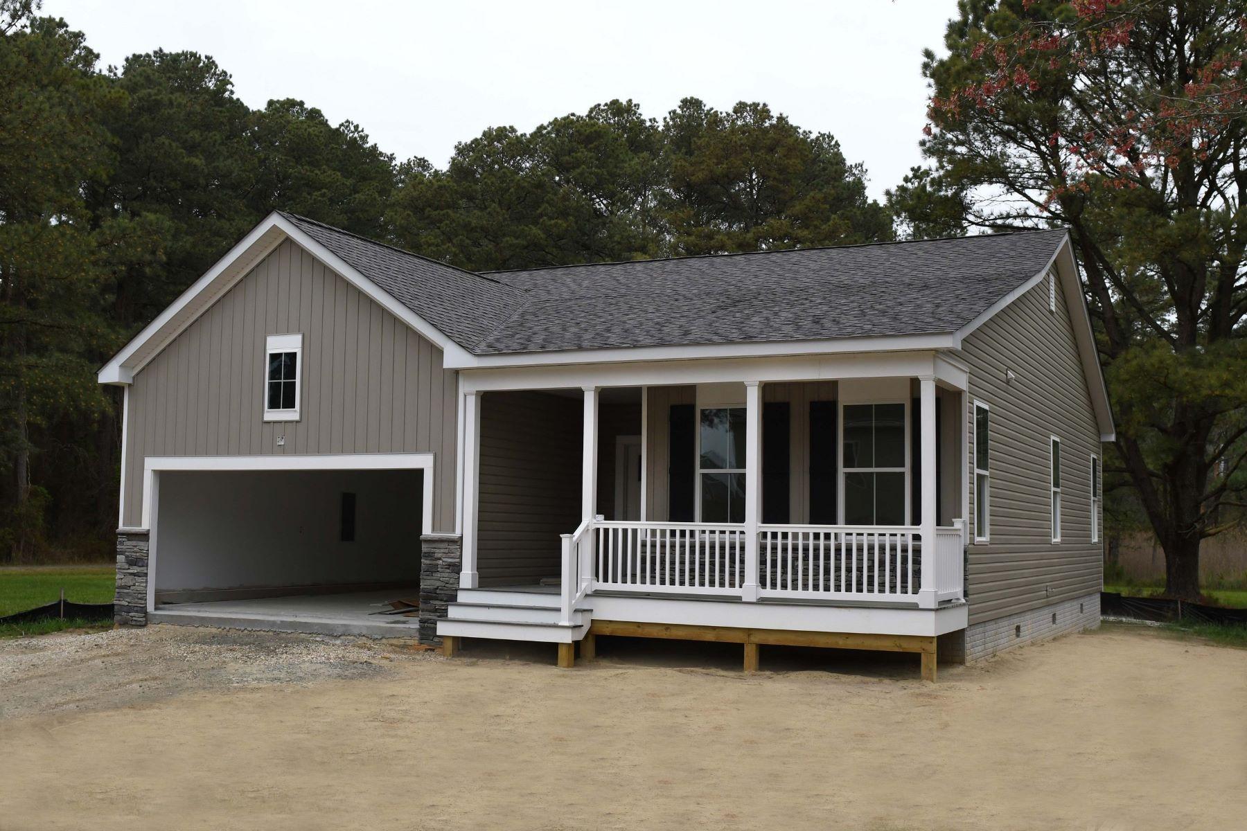 Single Family Homes 為 出售 在 Captain's Cove Coastal Rancher 38011 Fathom Road, Greenbackville, 弗吉尼亞州 23356 美國