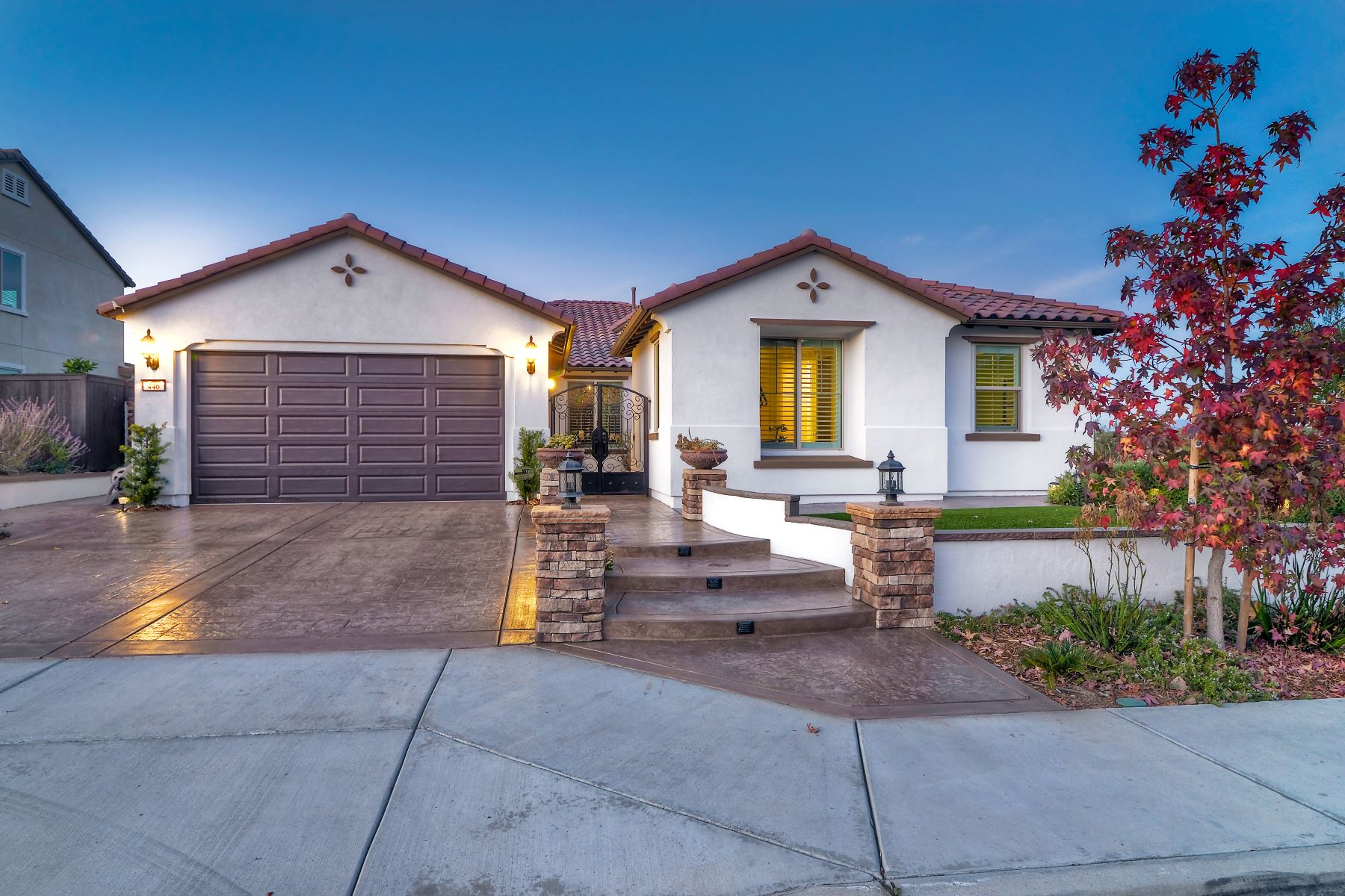 Single Family Home for Active at 446 Adobe Estates Drive 446 Adobe Estates Drive Vista, California 92083 United States