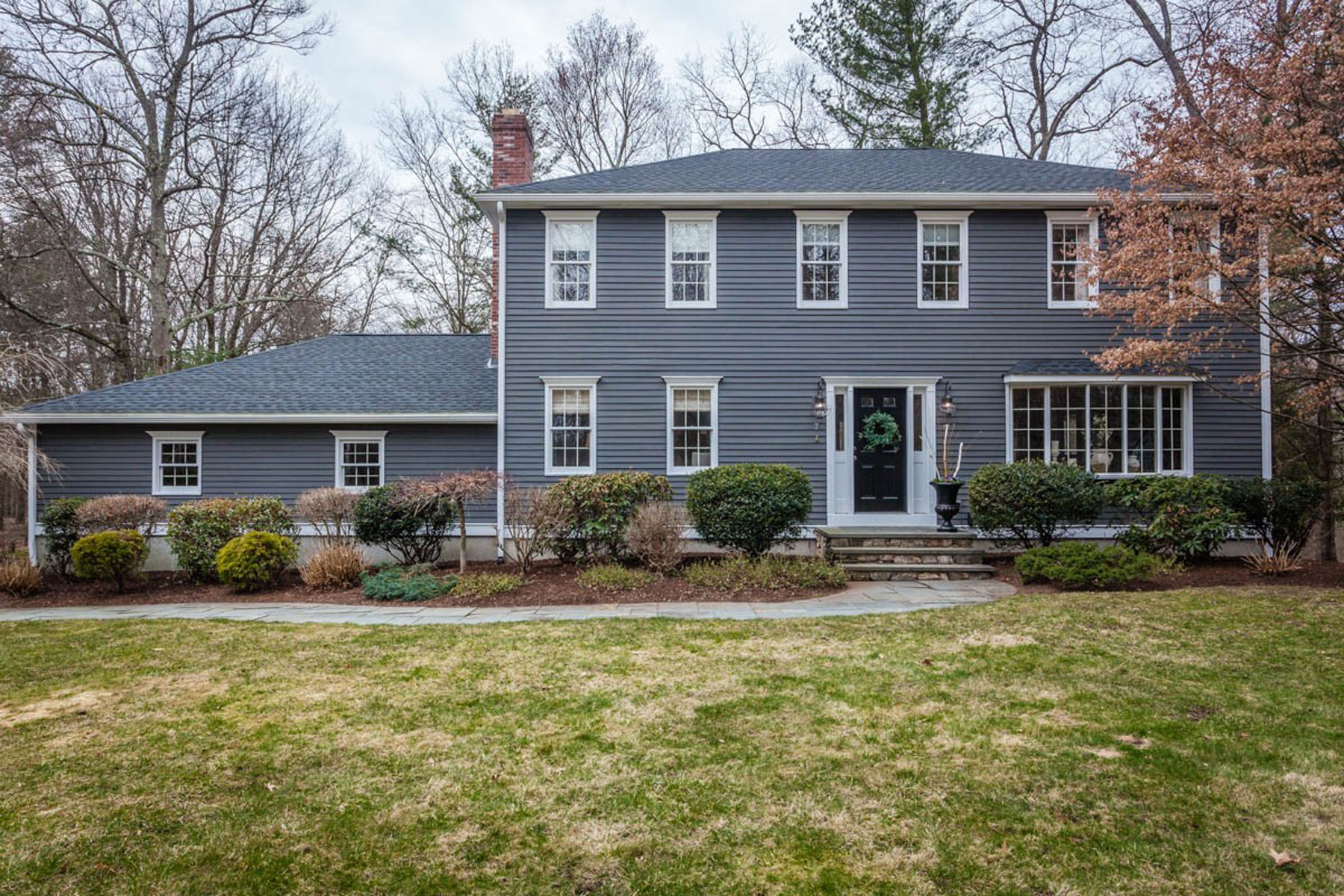 Single Family Home for Sale at BEAUTIFUL WELL MAINTAINED COLONIAL 7 Garrison Lane Southborough, Massachusetts 01772 United States