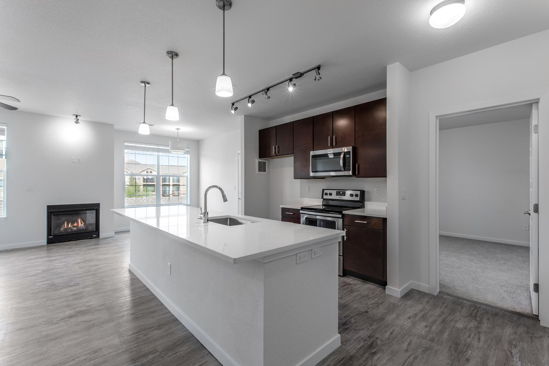 Property por un Venta en New construction Condos in an established community in Parker. 17353 Wilde Ln #208 D, Bldg 6 Parker, Colorado 80134 Estados Unidos