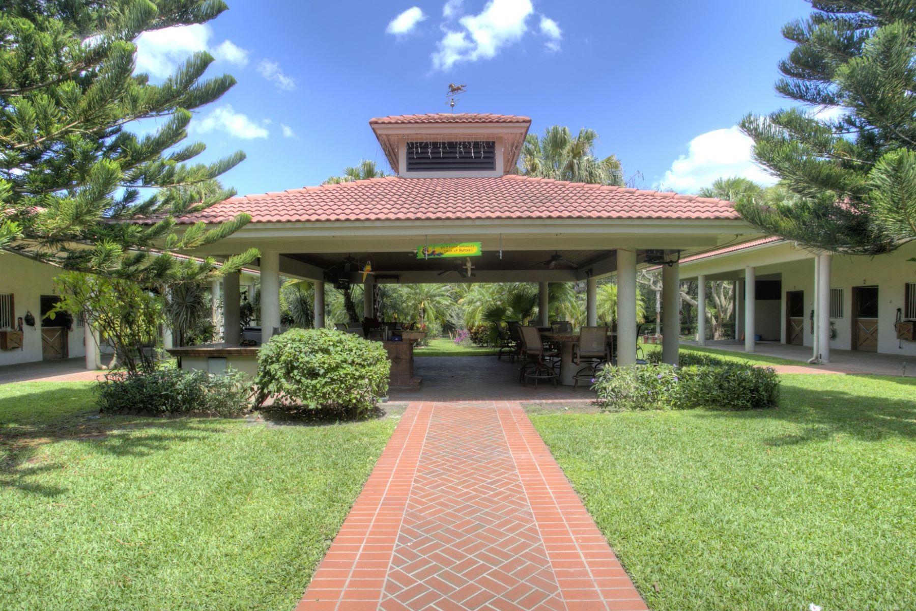 Landgut / Bauernhof / Plantage für Verkauf beim 6401 Rodeo Dr. Southwest Ranches, Florida, 33330 Vereinigte Staaten