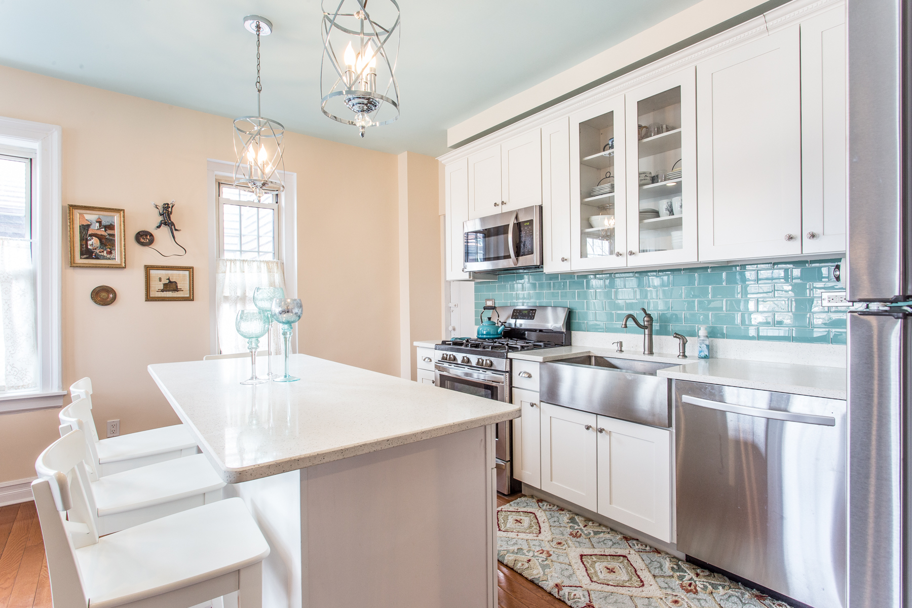 """Co-op Properties for Active at """"DESIGNER RENOVATED"""" 6 Burns Street, #B43, Forest Hills Gardens, Forest Hills, New York 11375 United States"""