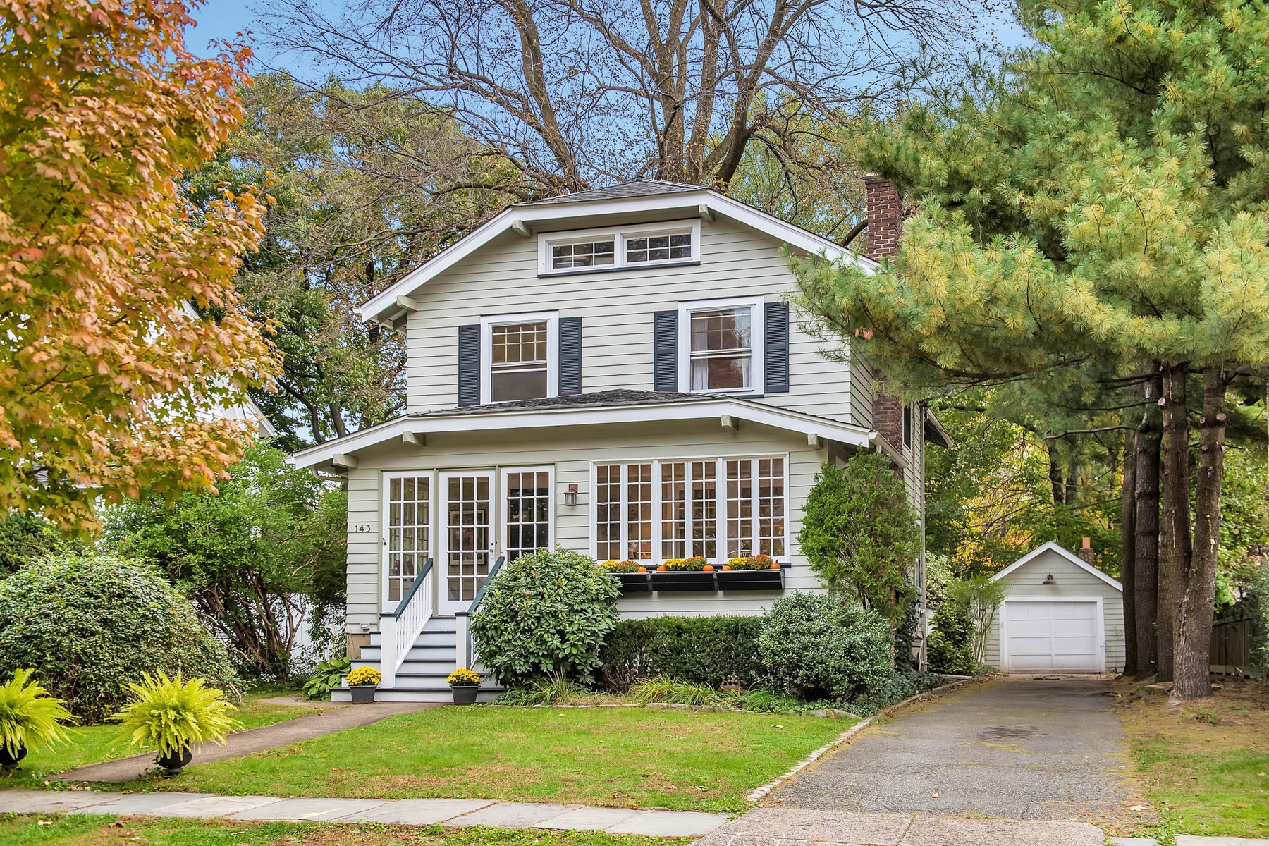 Single Family Home for Sale at Craftsman Colonial 143 Sherman Avenue, Glen Ridge, New Jersey 07028 United States