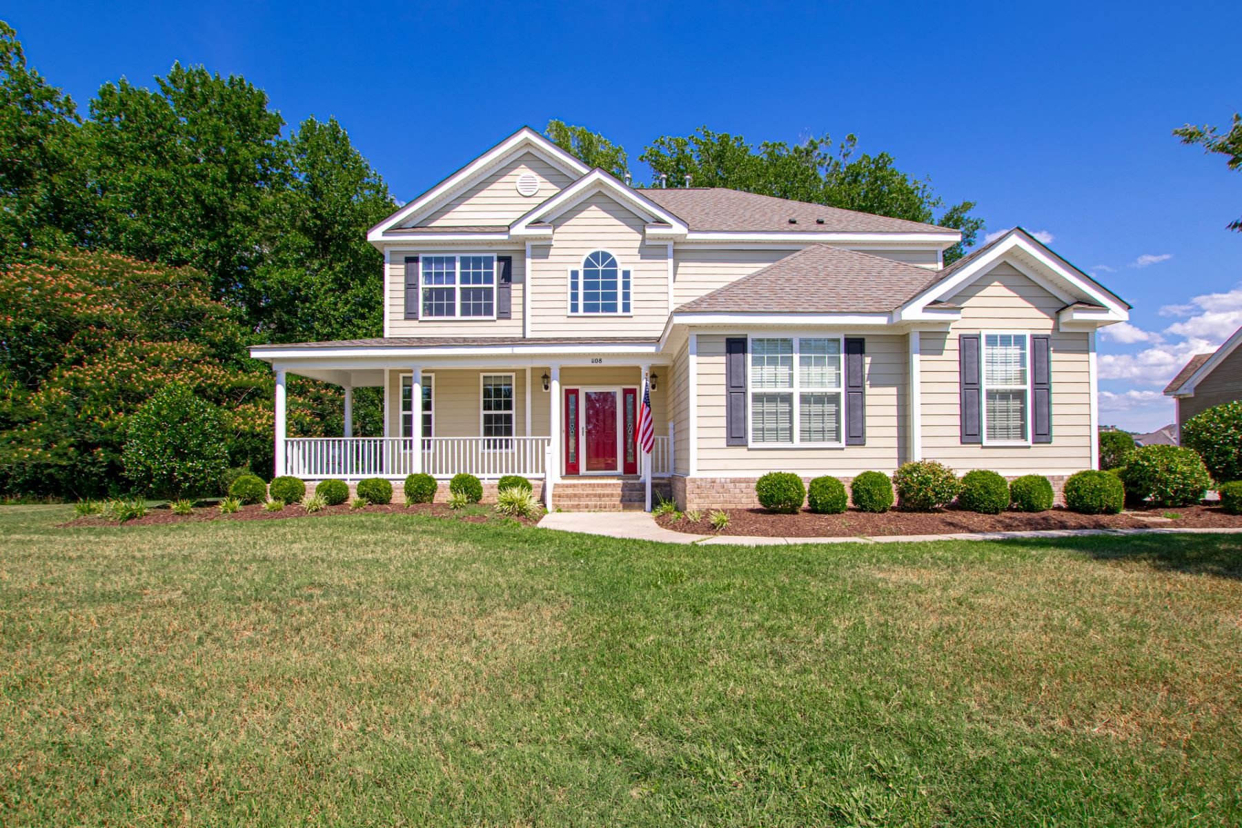 Single Family Homes for Active at HERONS POINT 1108 White Herons Lane Suffolk, Virginia 23434 United States