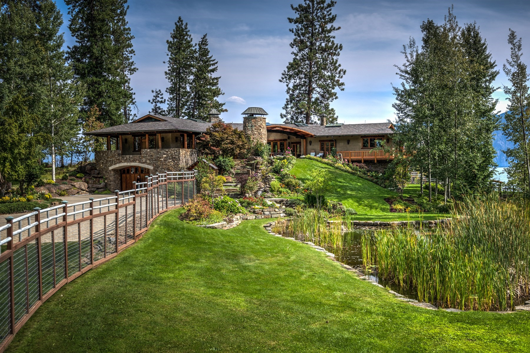 Single Family Homes للـ Sale في Loch Haven Estate 552 Loch Haven, Sagle, Idaho 83860 United States