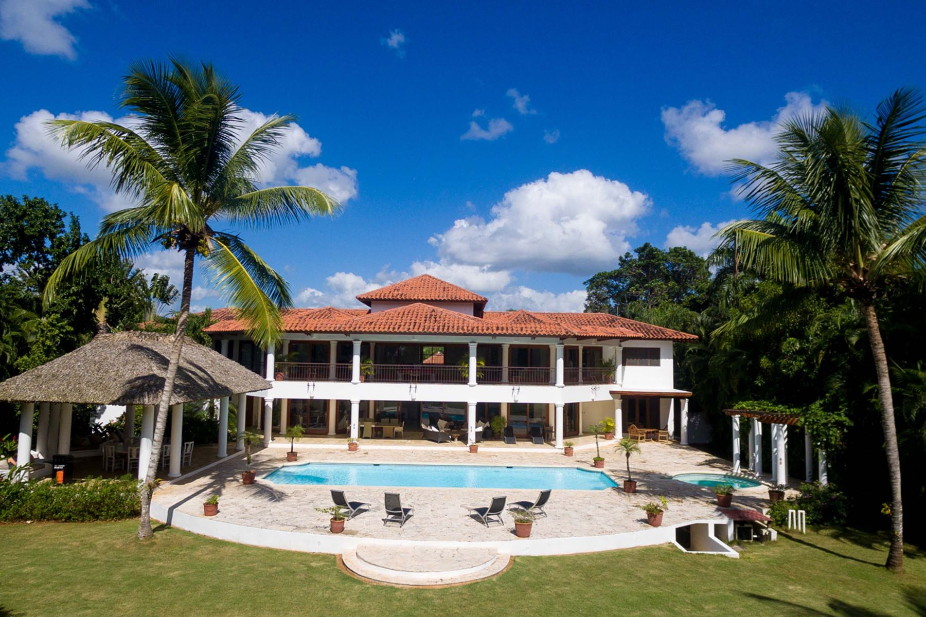 Single Family Home for Sale at A large and inviting, French-style home with excellent views Casa De Campo, La Romana Dominican Republic