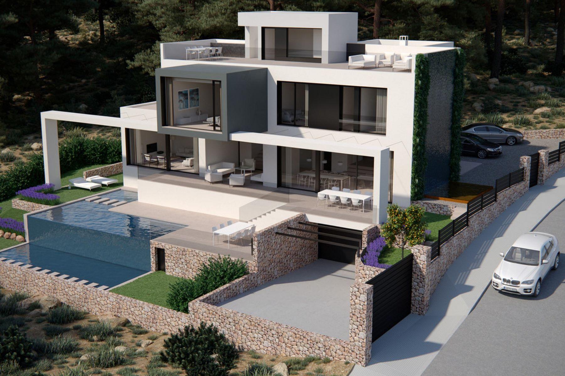 独户住宅 为 销售 在 Villa in a quiet residential area of Port Andratx 安德拉特斯, 马洛卡, 07157 西班牙