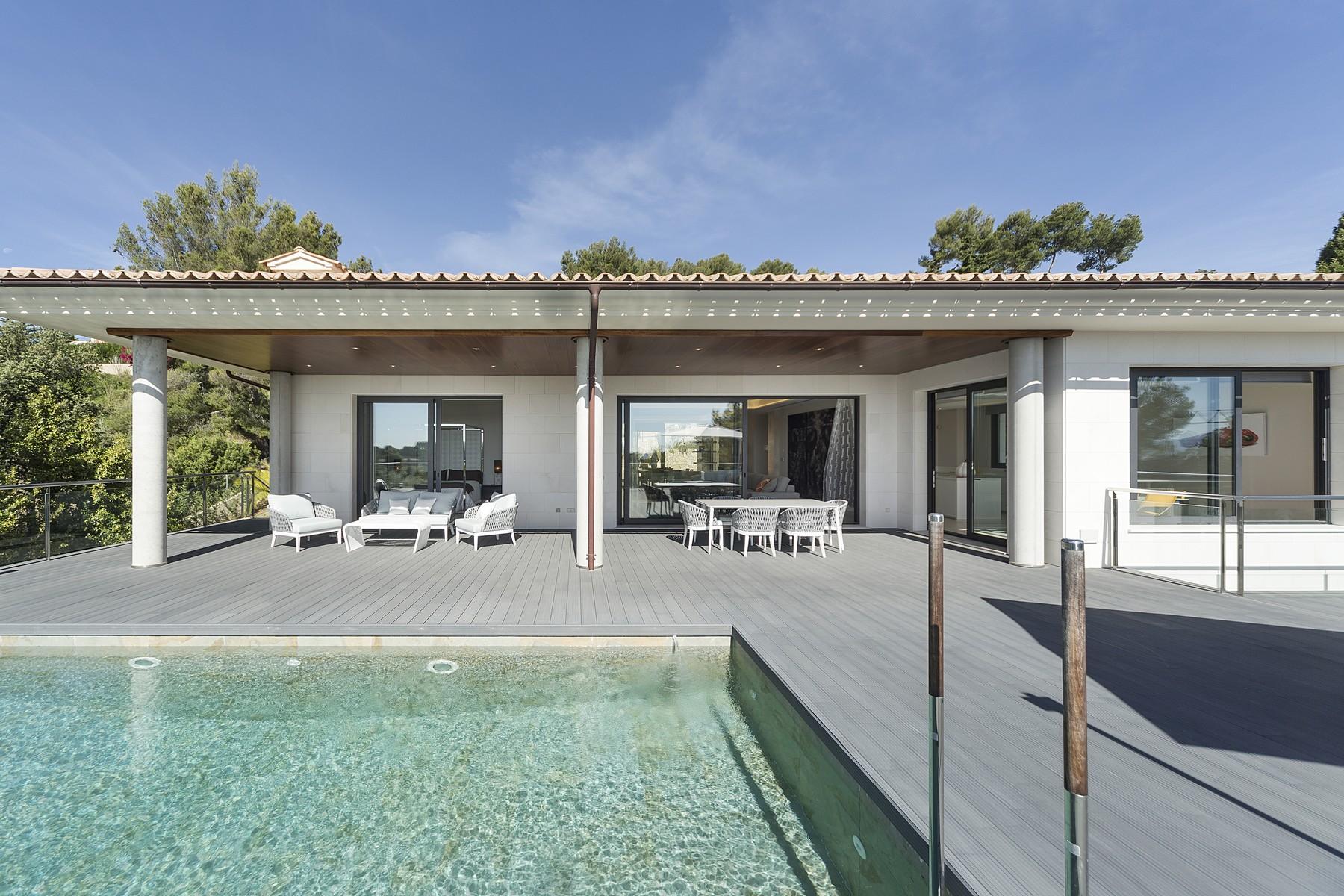 Maison unifamiliale pour l Vente à Newly-built Villa in Son Vida Palma Center, Majorque, 07013 Espagne