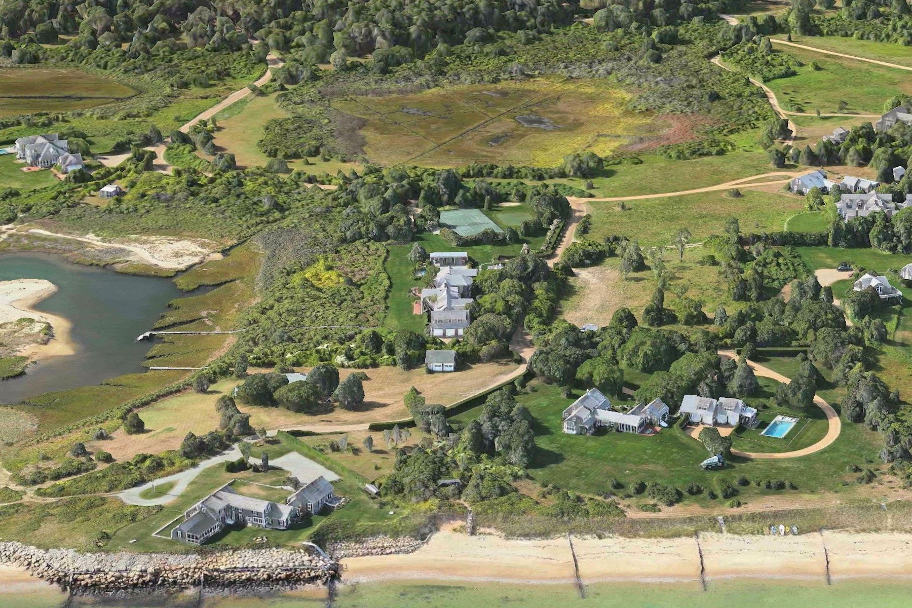 Land for Active at Private beach lot on Edgartown's North shore 148 Planting Field Way Edgartown, Massachusetts 02539 United States