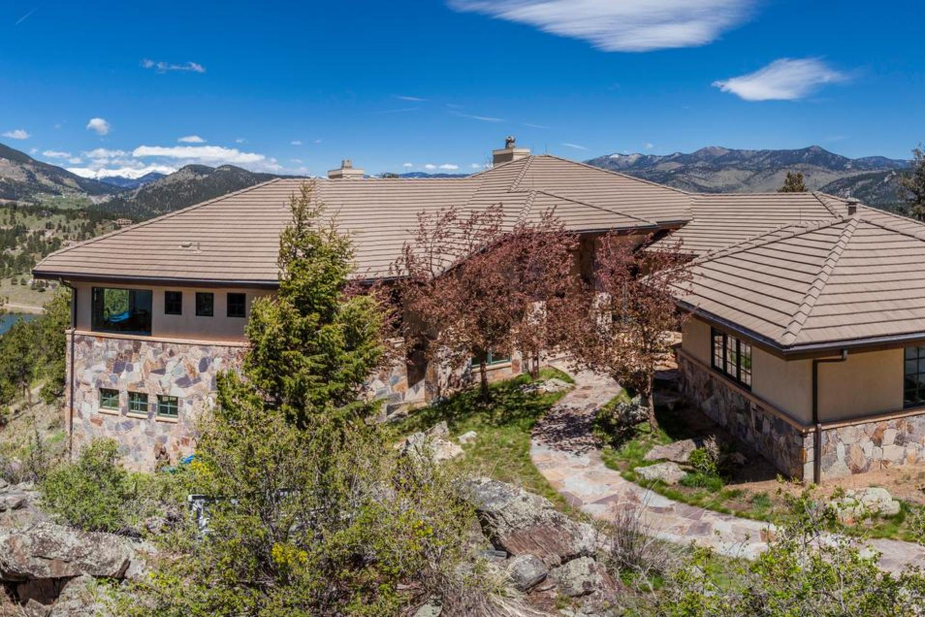 Single Family Homes for Sale at Modern & Bright! 414 Humphrey Drive Evergreen, Colorado 80439 United States