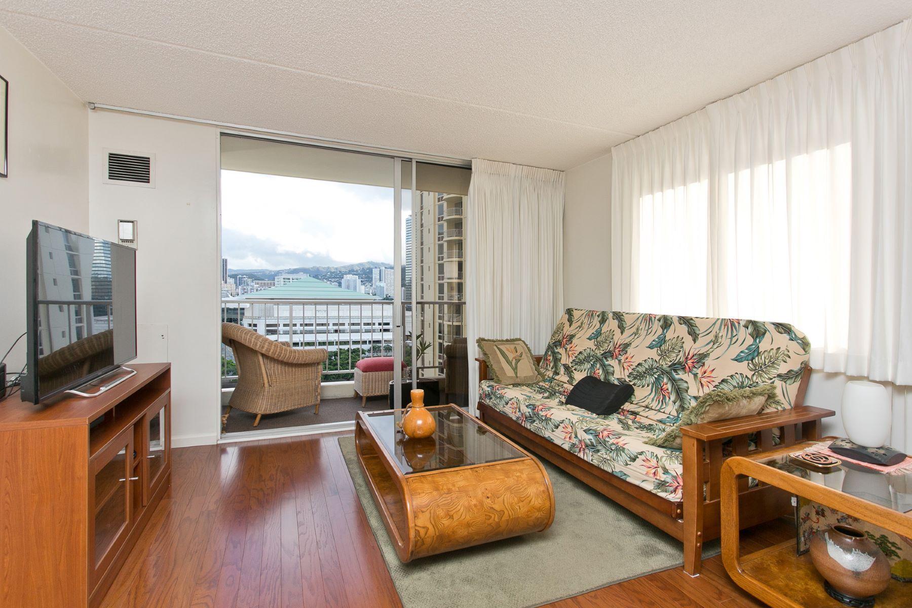 Condominium for Sale at Urban Retreat 400 Hobron Lane #1414 Honolulu, Hawaii 96815 United States