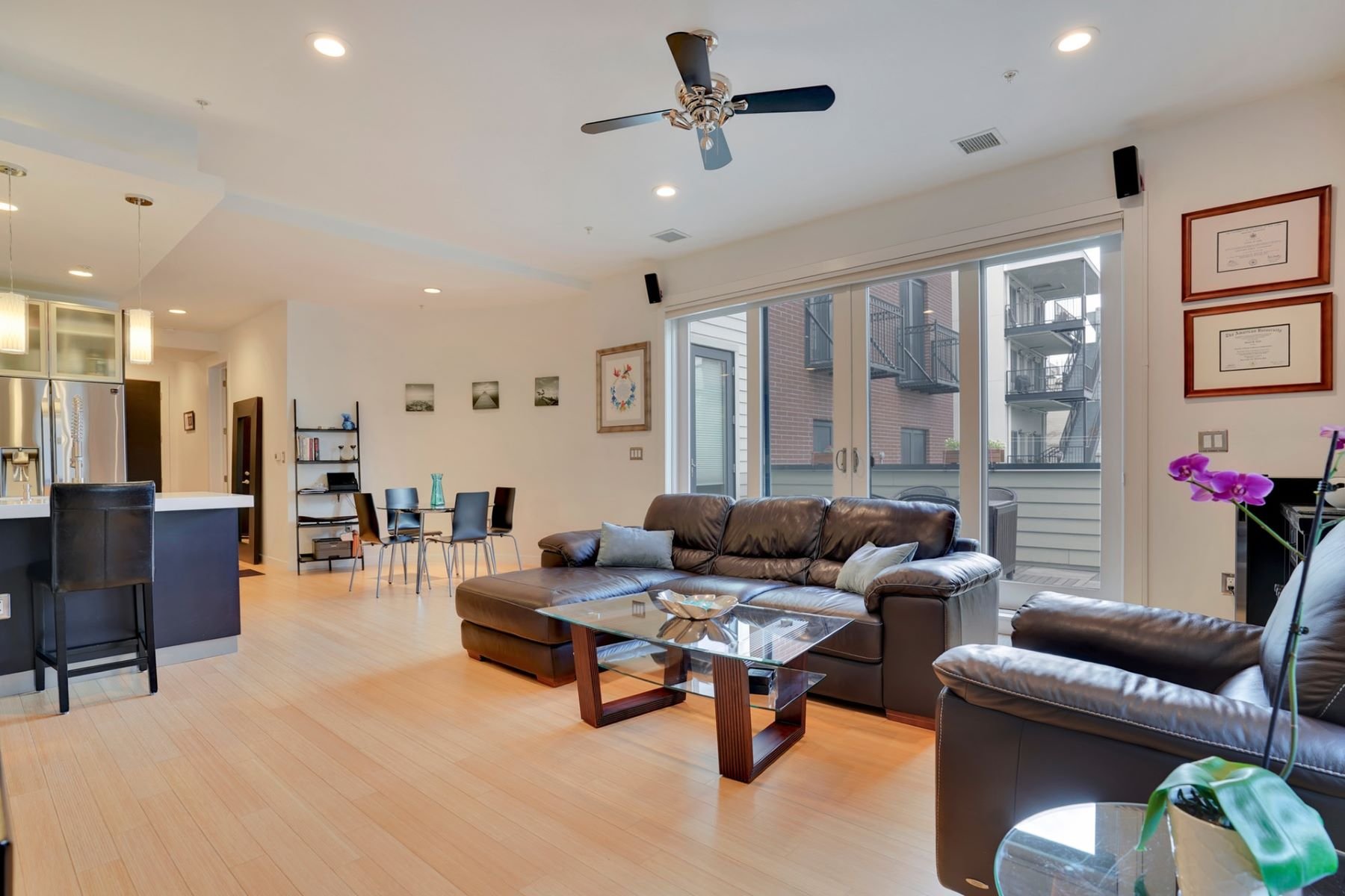 Condominiums for Sale at Exclusive Satori Lofts 1BR! 511 Madison Street #203 Hoboken, New Jersey 07030 United States