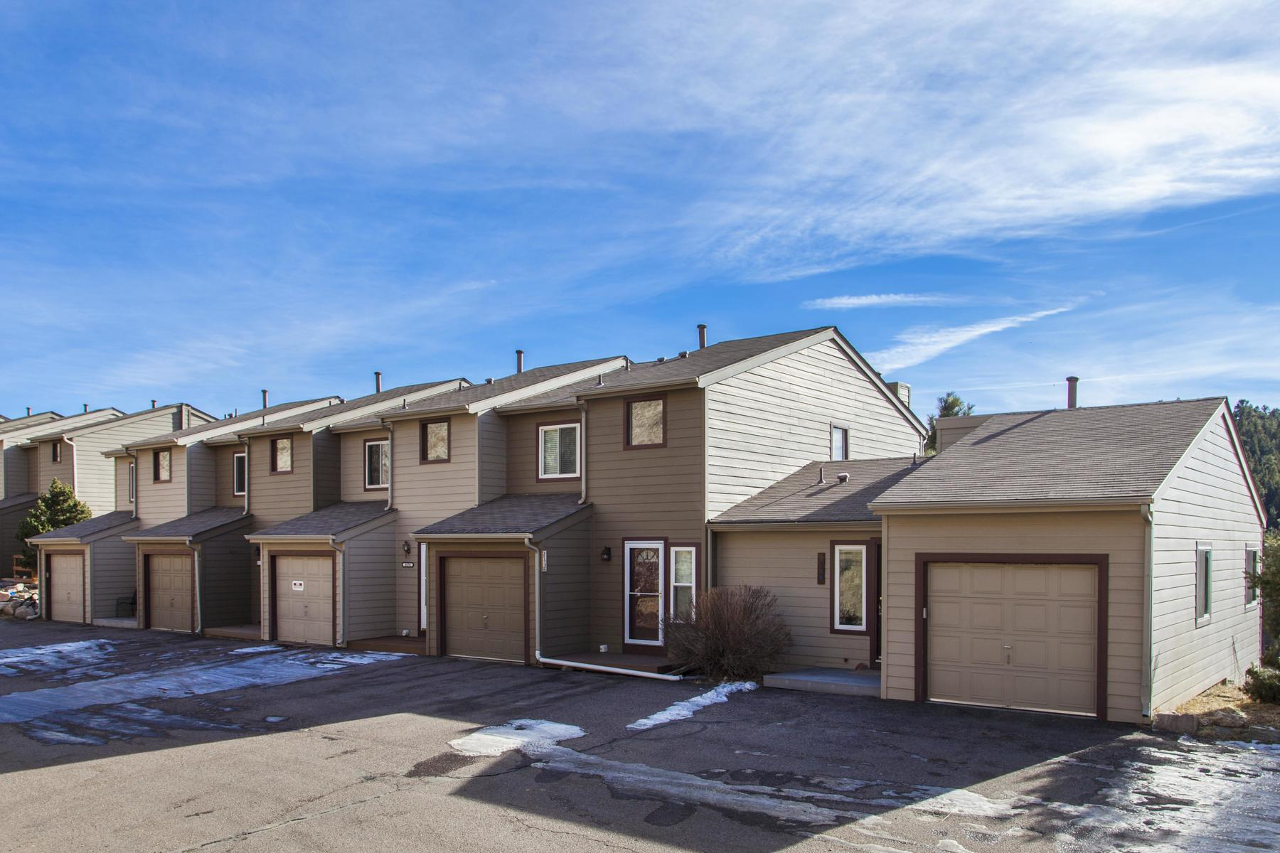 Townhouse for Active at 3178 Buckboard Drive 3178 Buckboard Drive Evergreen, Colorado 80439 United States