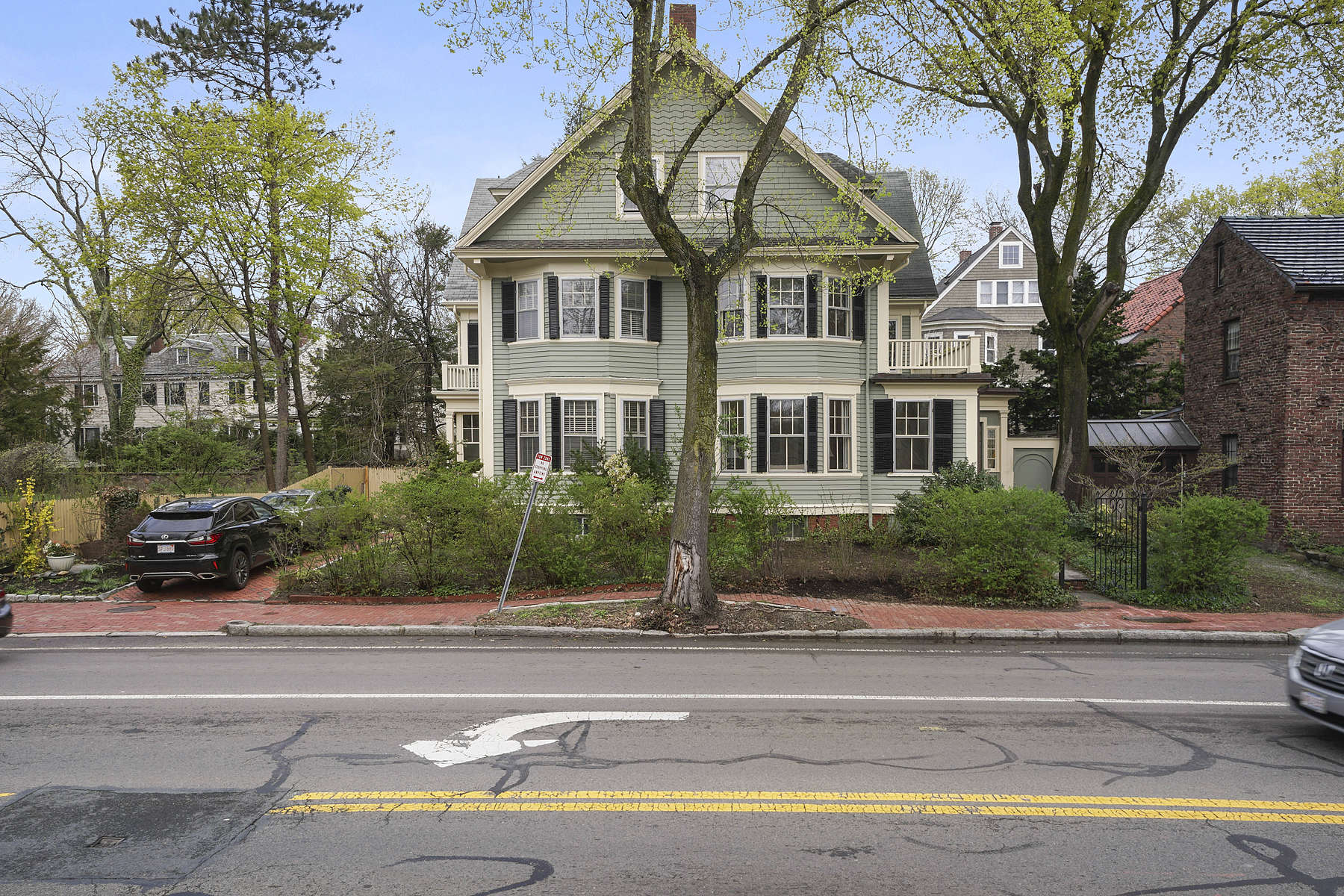 Single Family Home for Active at Beautiful Residence On Prestigious Historic Brattle Street 213 Brattle Street Cambridge, Massachusetts 02138 United States