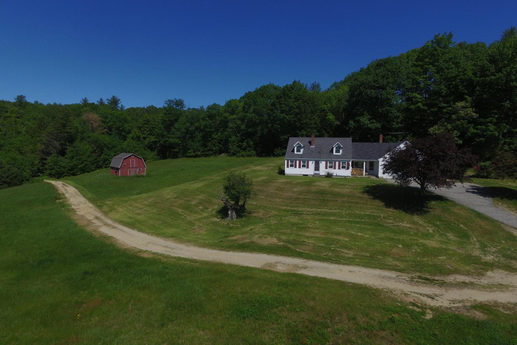 Single Family Homes por un Venta en 376 Stowe Mountain Road, Hillsborough 376 Stowe Mountain Rd Hillsborough, Nueva Hampshire 03244 Estados Unidos