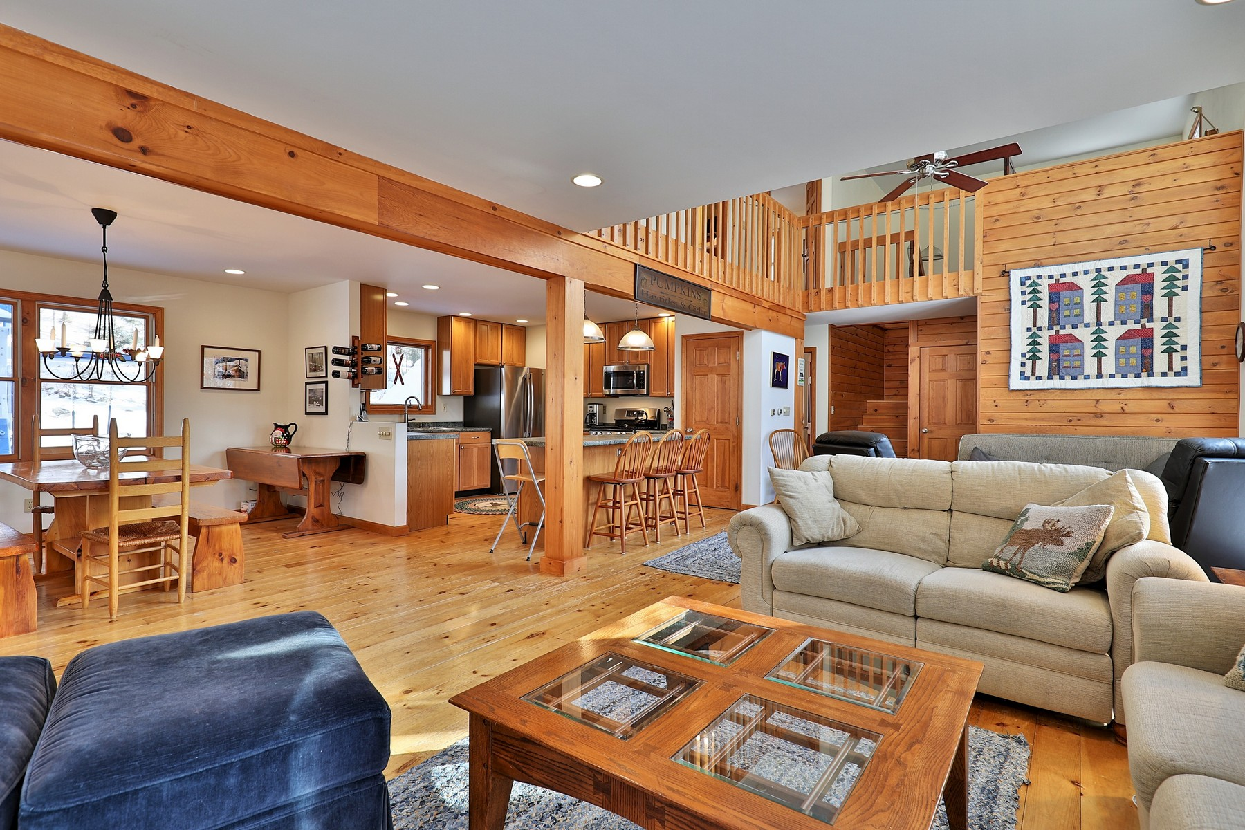 Single Family Homes for Sale at Furnished and Ready to Go! 256 Bowlsville (south) Rd Mount Holly, Vermont 05758 United States