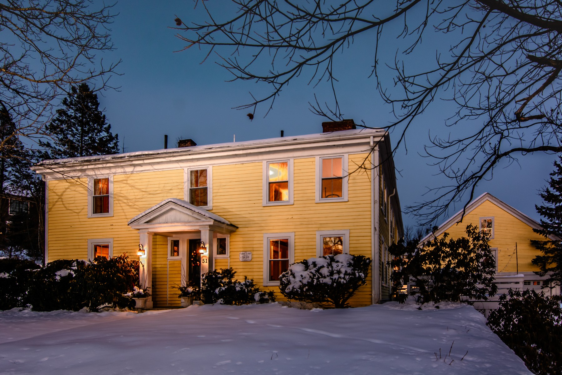 Single Family Home for Active at Eber S. Fay House - Inviting Antique Farmhouse 51 Sears Road Southborough, Massachusetts 01772 United States