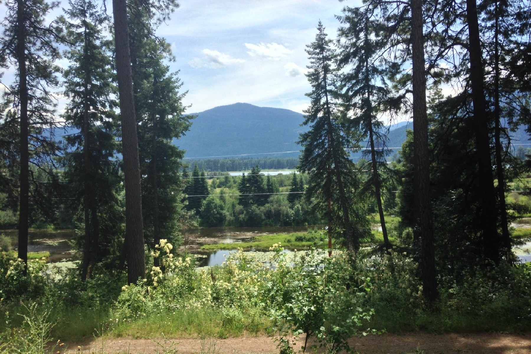 Земля для того Продажа на Sweeping Views of Clark Fork River 52331 Hwy 200 Clark Fork, Айдахо, 83811 Соединенные Штаты