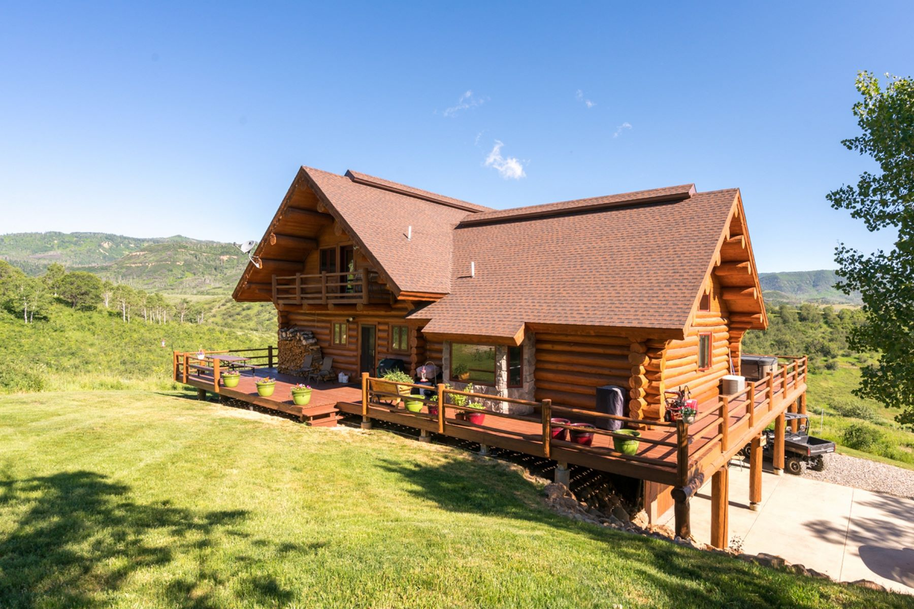 Single Family Home for Sale at Epic Rocky Mountain Log Home 47505 County Road 52W Steamboat Springs, Colorado 80487 United States