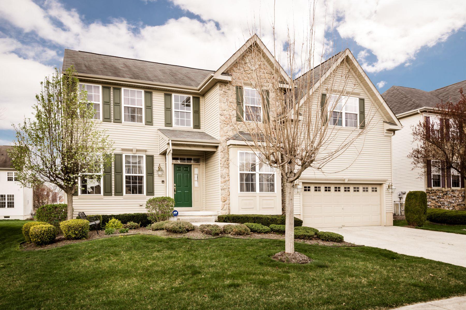 Maison unifamiliale pour l Vente à Elegant Bordentown Home 22 Ridgewood Drive Bordentown, New Jersey 08505 États-Unis