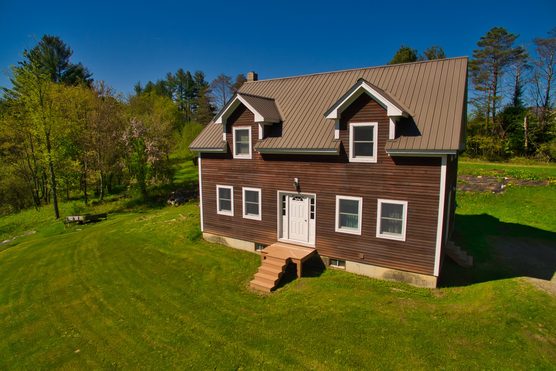 Single Family Home for Sale at Lovely Hi-Posted Cape in Peru 17 Aldrich Rd Peru, Vermont 05152 United States