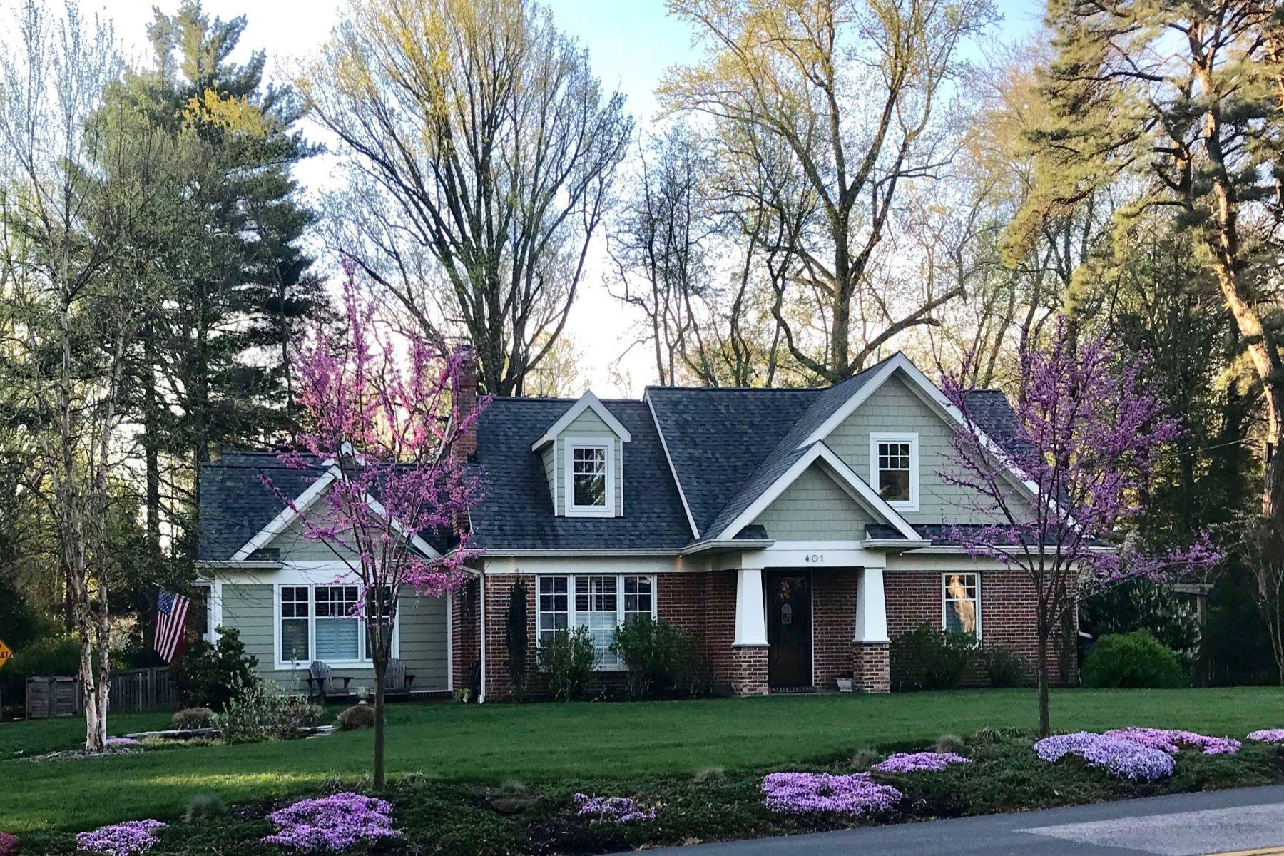 Single Family Homes 为 销售 在 Pristine Cape Cod in Olde Severna Park 401 Riggs Avenue 锡弗纳帕克, 马里兰州 21146 美国