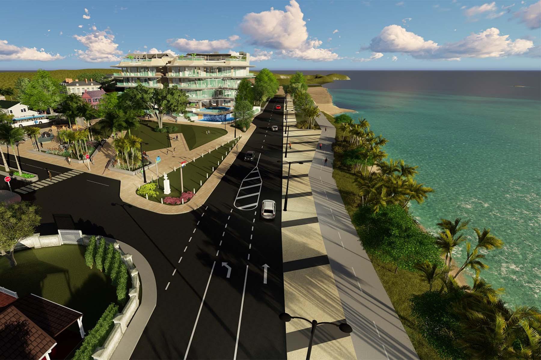 Condomínio para Venda às Coral Shell 2 bedroom unit Oranjestad, Aruba