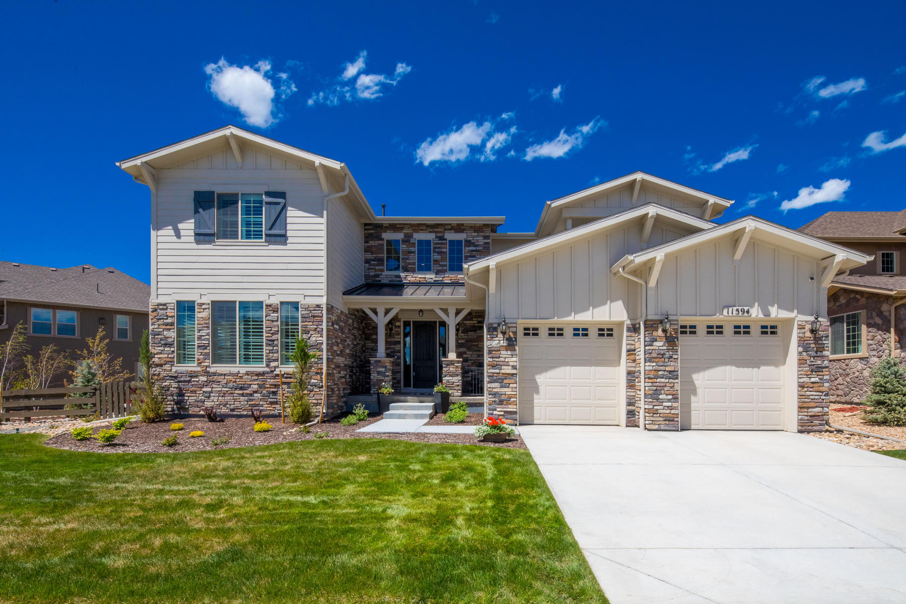 Single Family Homes για την Πώληση στο Extraordinary Custom Finishes and $115,000+ of Post-Closing Upgrades 11594 Pine Canyon Drive, Parker, Κολοραντο 80138 Ηνωμένες Πολιτείες