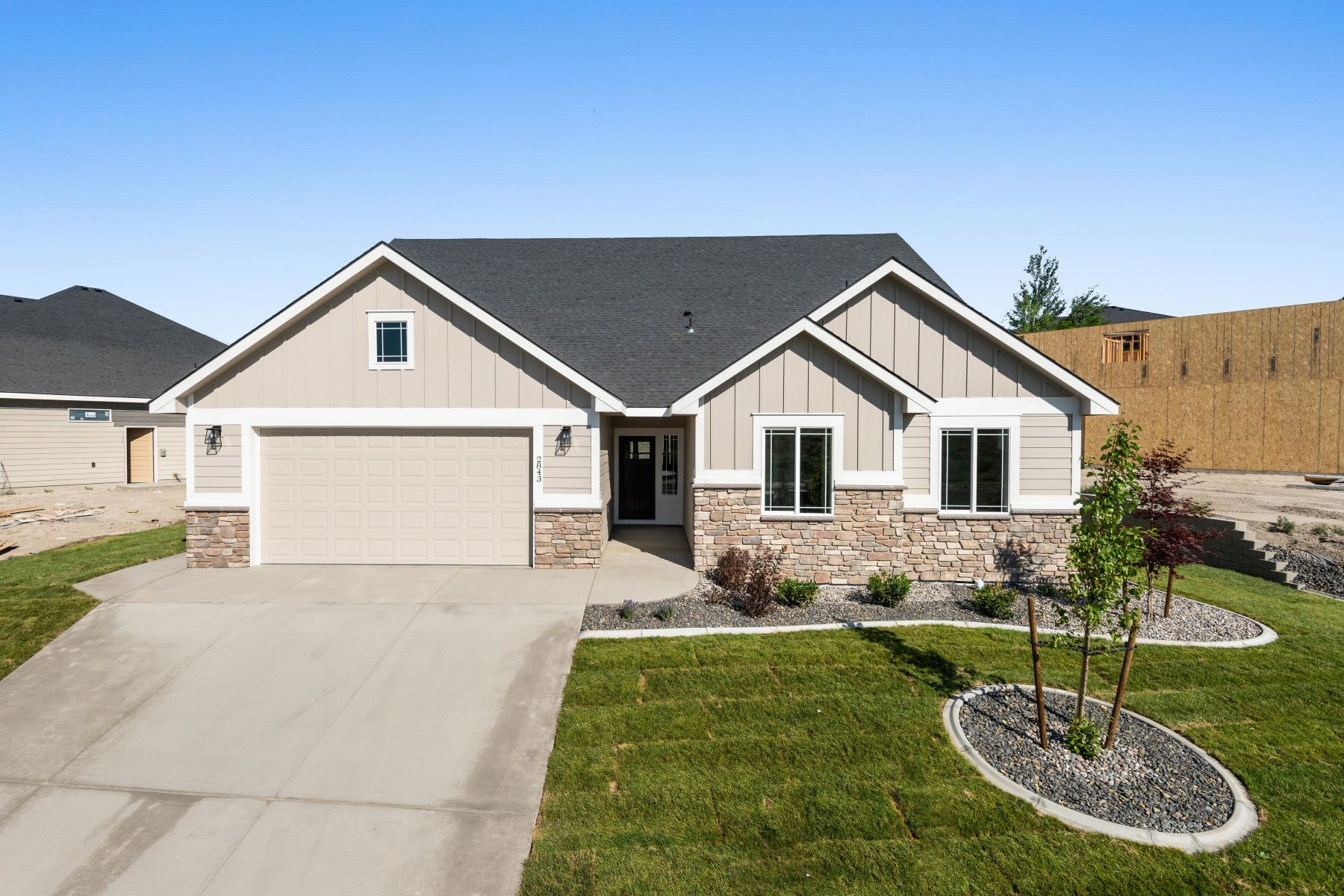 Single Family Homes for Sale at The Dover Floorplan 2843 Mackenzie Richland, Washington 99352 United States