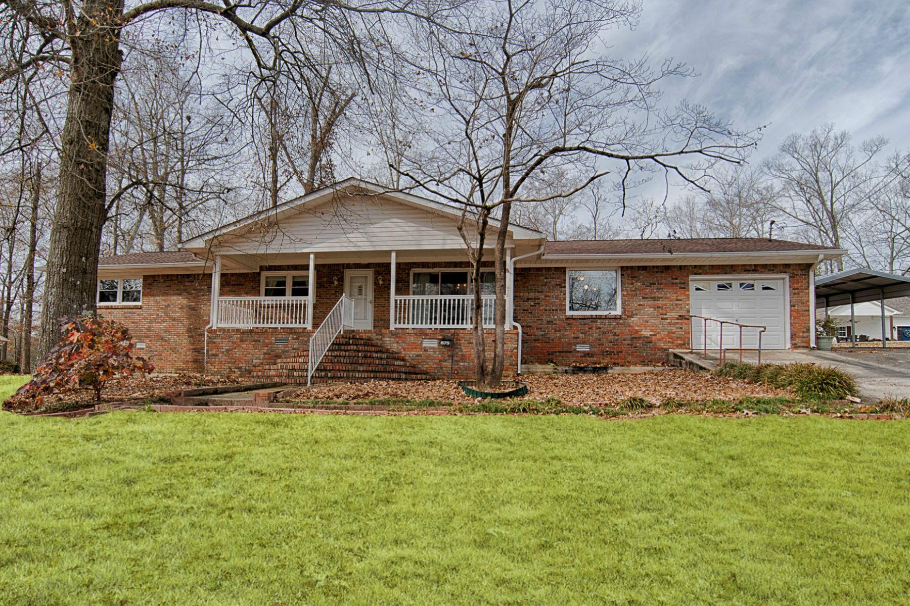 Single Family Homes por un Venta en 875 Point of Pines Guntersville, Alabama 35976 Estados Unidos