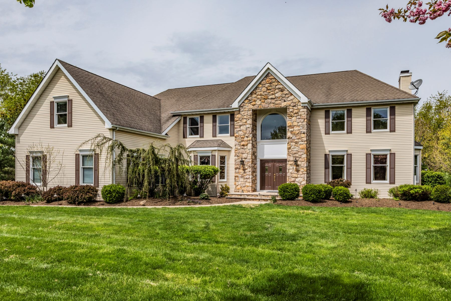Single Family Home for Sale at Create Lasting Memories Here 121 Saxon Way, Skillman, New Jersey 08558 United States