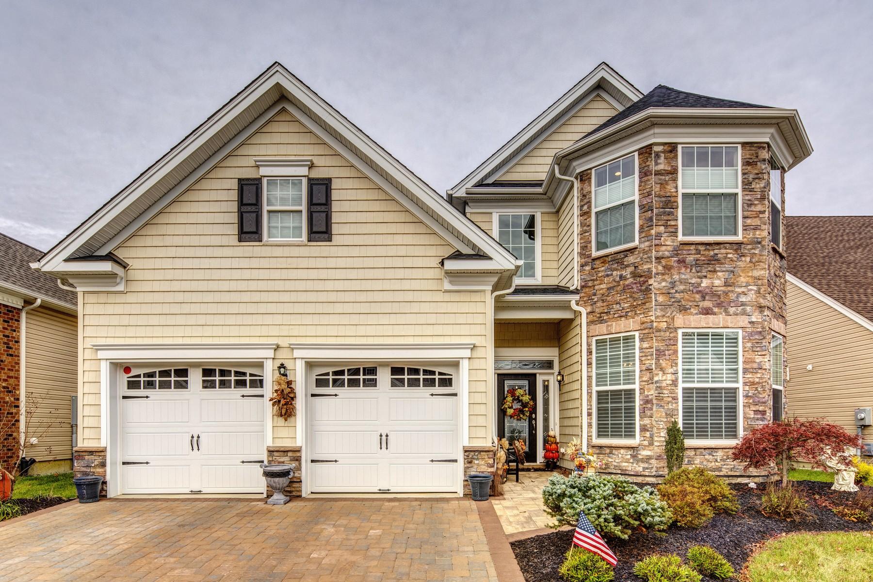 Maison unifamiliale pour l Vente à Regency at Trotters Pointe 110 Sunset Drive, Tinton Falls, New Jersey 07724 États-Unis