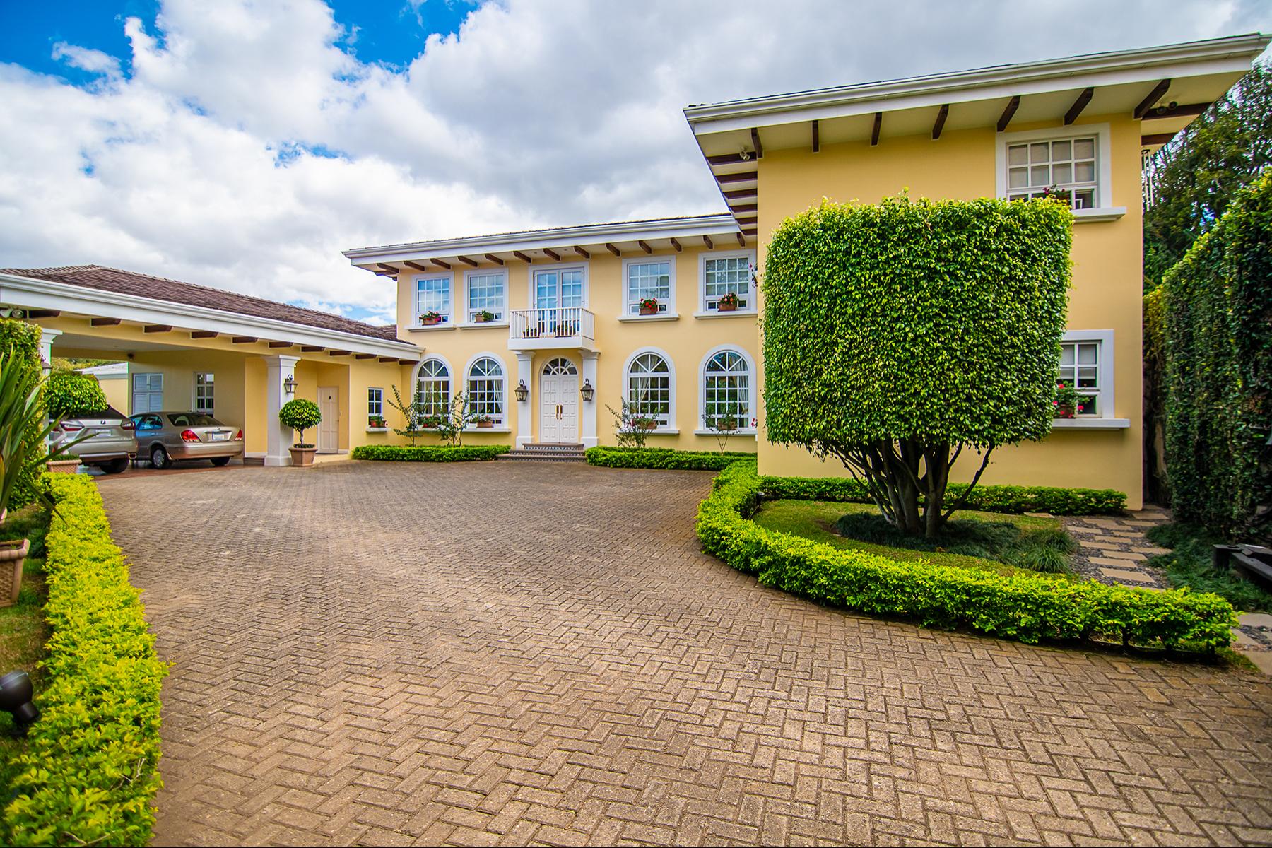 Single Family Homes for Sale at Laurels Manor, Escazú Escazu, San Jose Costa Rica