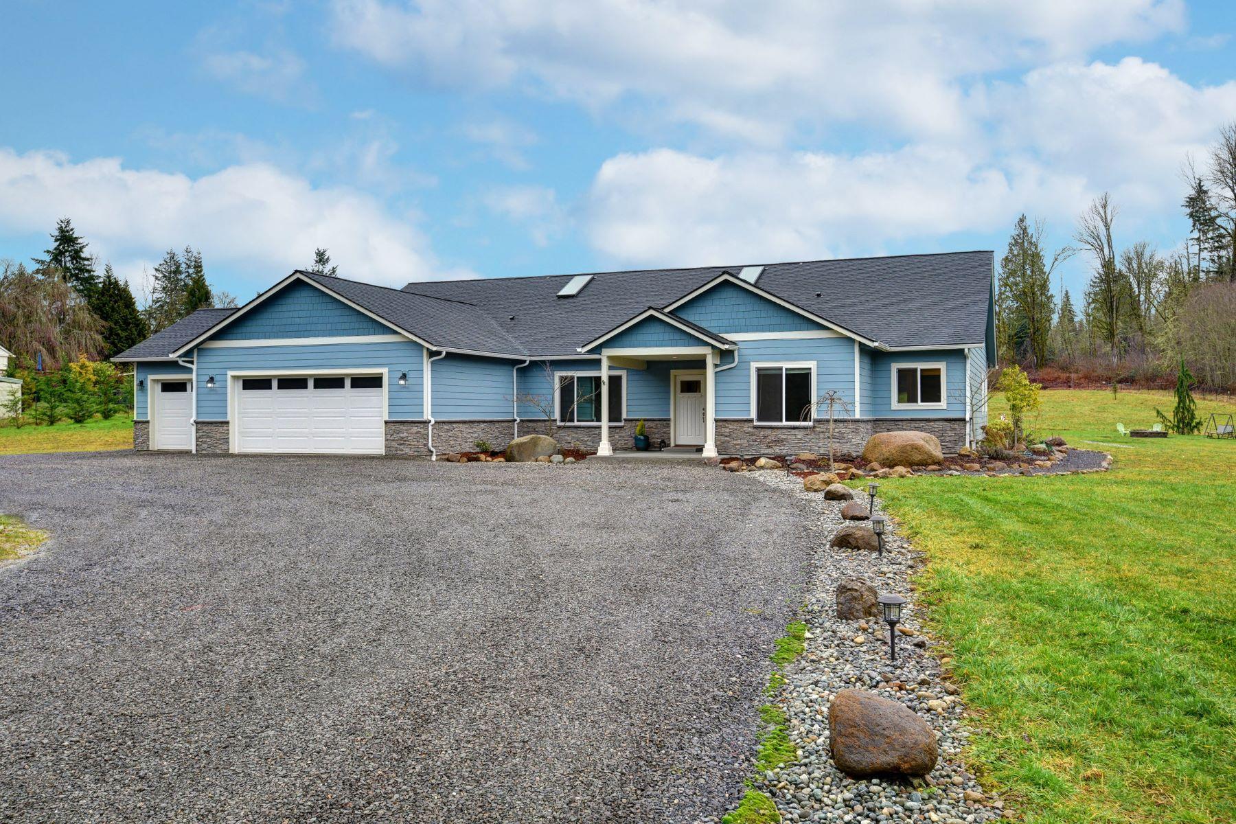 Single Family Homes por un Venta en Contemporary Country Living 14832 316th Ave NE Duvall, Washington 98019 Estados Unidos