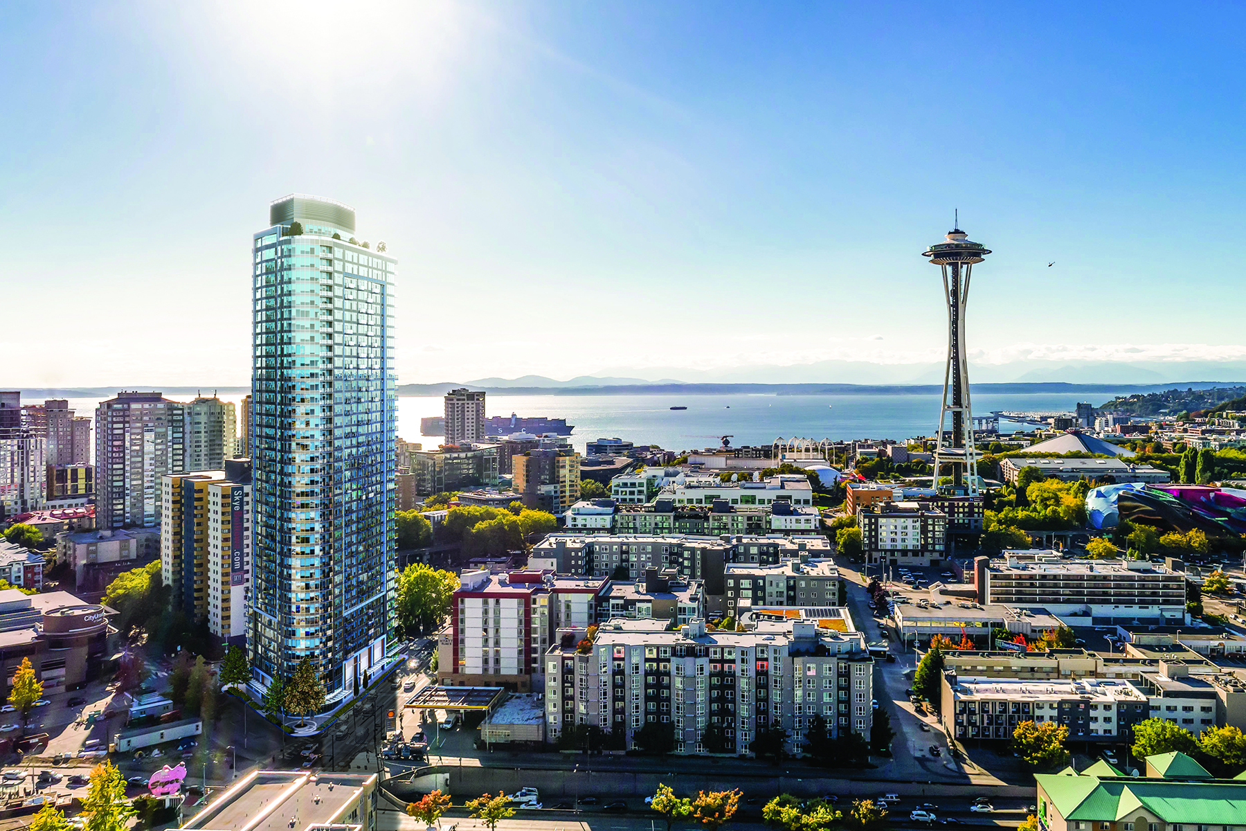 Condominio por un Venta en 600 Wall St 3607, Seattle 600 Wall St 3607 Seattle, Washington 98121 Estados Unidos